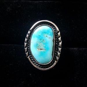 Jewelry - Ed Kee Navajo Turquoise Ring Native American